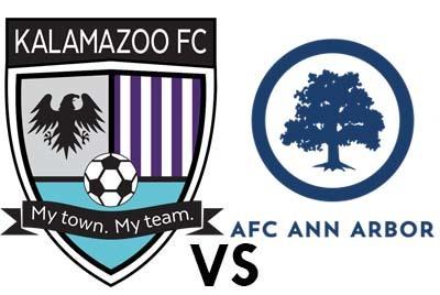 Kalamazoo FC vs. AFC Ann Arbor poster