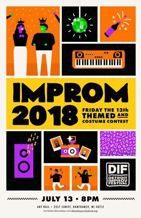 DIF Improm Fundraiser 2018 poster