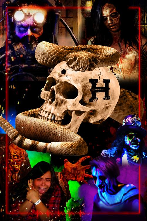 Heartstoppers Haunt 2018 poster