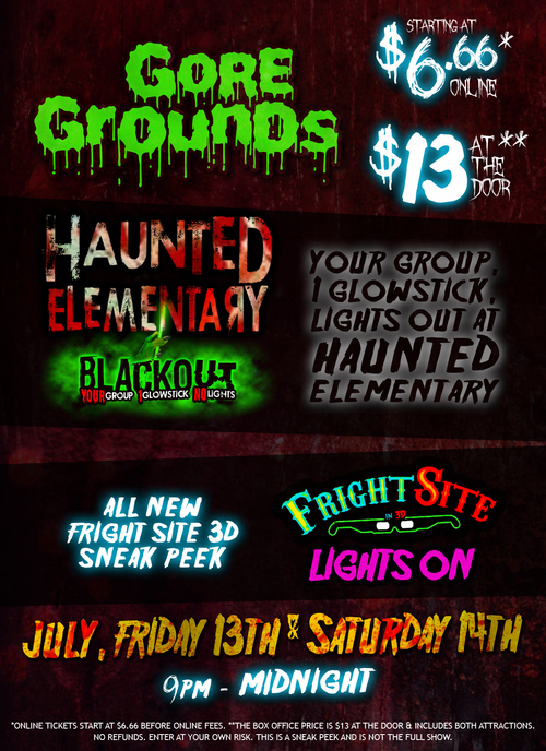 Friday 13th Weekend poster