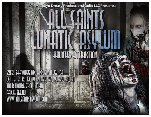 All Saints Lunatic Asylum - Halloween Season 2018  poster