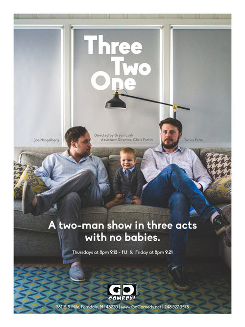 Three Two One poster