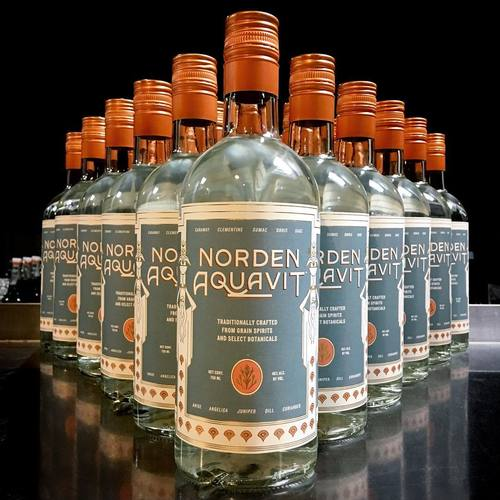 Norden Aquavit Cocktail Dinner image