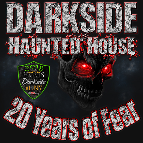 Darkside Haunted House    2018 poster