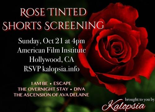 Rose Tinted Shorts Screening image