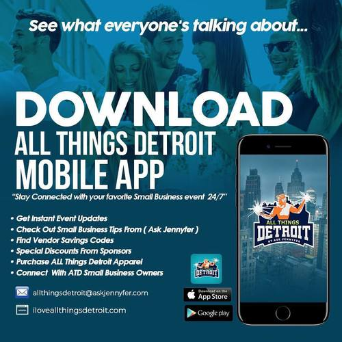 All Things Detroit Small Business Showcase & Food Truck Rally (3/31) image