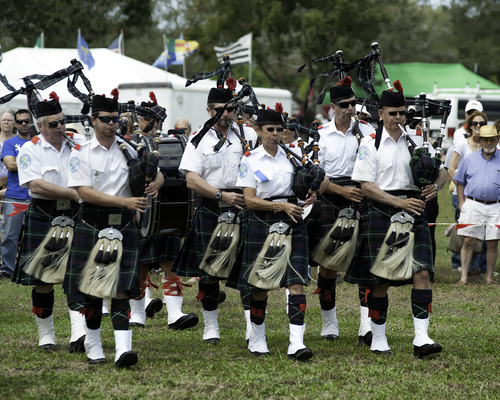 36th Annual Southeast Florida Scottish Festival & Highland Games poster