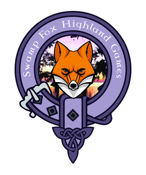2nd Annual Swamp Fox Highland Games and Celtic Festival poster