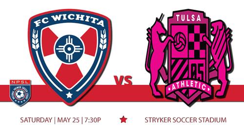 FC Wichita vs Tulsa poster