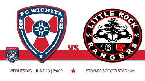 FC Wichita vs Little Rock poster