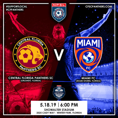 Central Florida Panthers SC v Miami FC poster