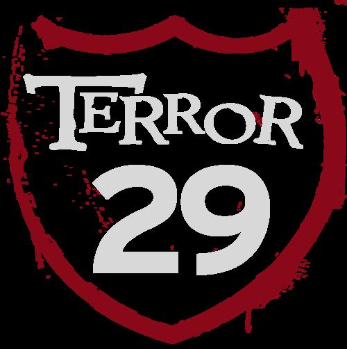 Terror 29 - TICKETS poster