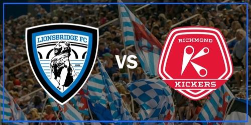 Lionsbridge FC vs Richmond Kickers (July 9, 2019) poster