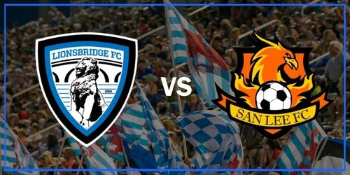 Lionsbridge FC vs San Lee FC (July 13, 2019) poster