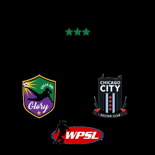 Green Bay Glory vs Chicago City poster