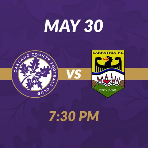 OCFC vs Carpathia FC poster