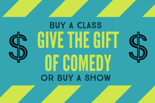 Go Comedy Gift Certificates poster