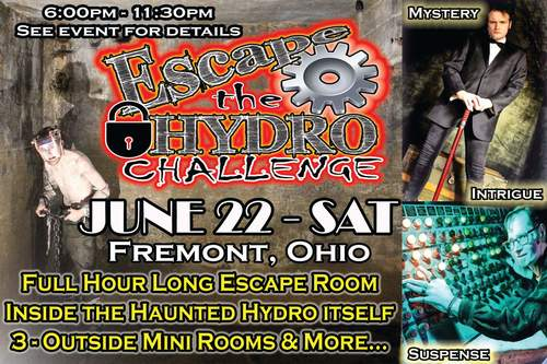 Escape The Hydro Challenge  poster