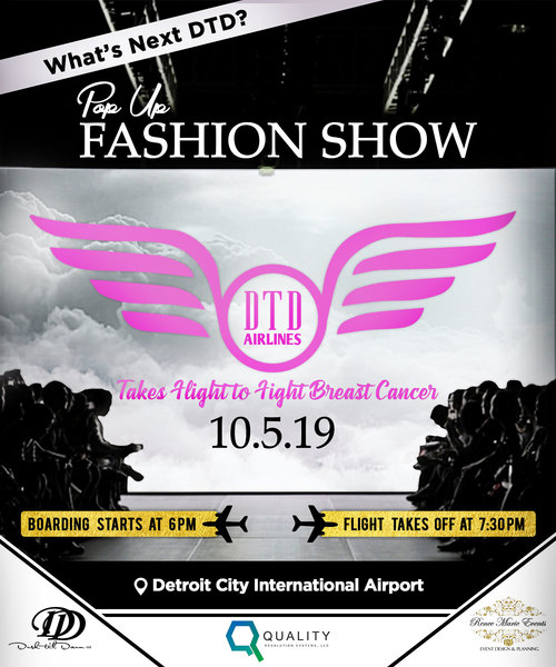 What's Next DTD? Pop-Up Fashion Show: Takes Flight to Fight Breast Cancer image