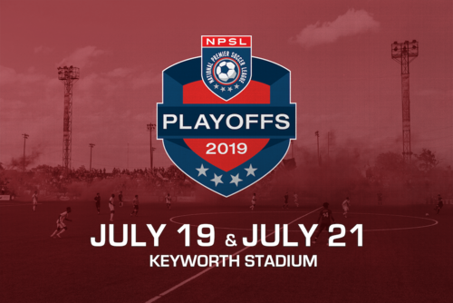 2019 NPSL Midwest Region Playoffs poster