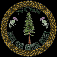 2019 Redwood Scottish Games poster