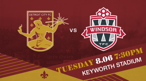 DCFC vs Windsor TFC poster