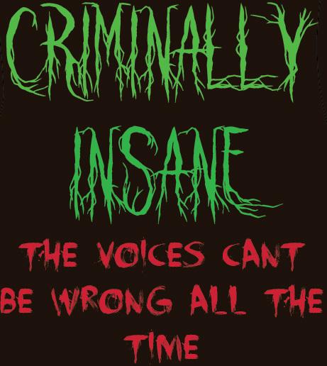 Criminally Insane poster