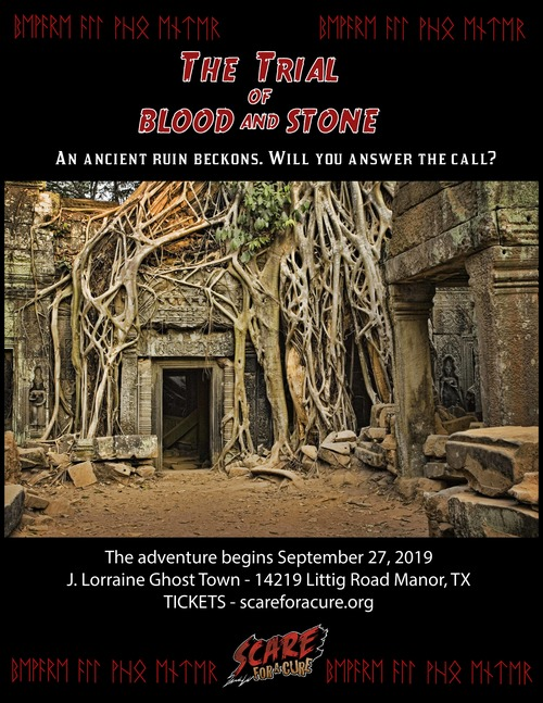 Scare For A Cure presents: The Trial of Blood and Stone poster