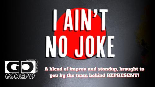 I Ain't No Joke poster