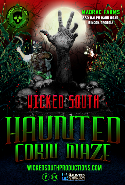Wicked South Haunted Corn Maze image