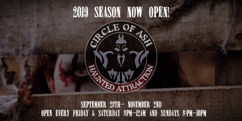 Circle of Ash Haunted Attraction poster