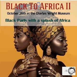 Black to Africa II poster