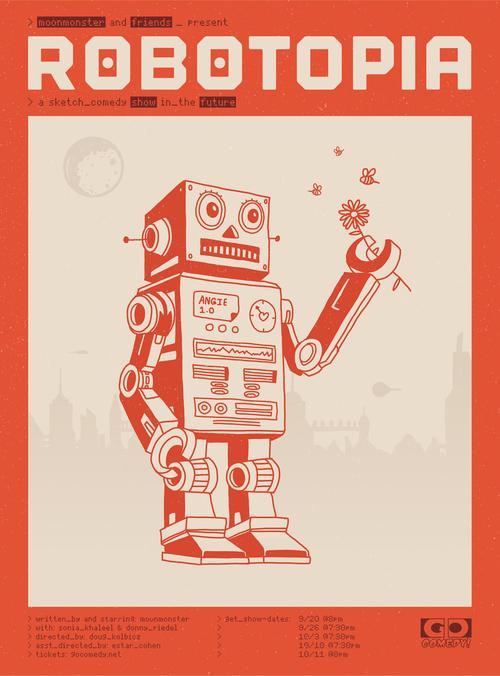 Moonmonster Presents: Robotopia poster