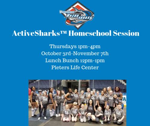 Thursday ActiveSharks™ Homeschool Program   poster