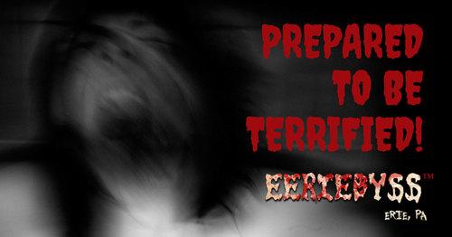 Eeriebyss Factory of Terror 2019 poster