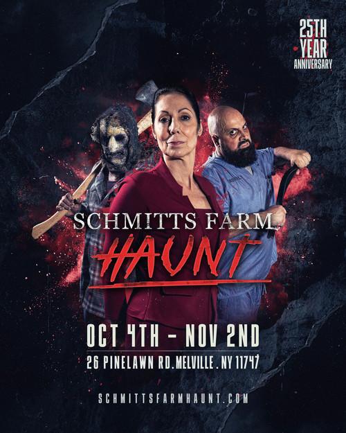 Schmitts Farm Haunt 2019 - Night poster