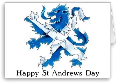 St Andrew's Day Soiree poster