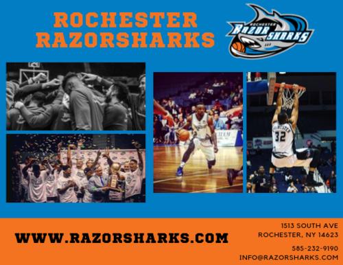 Rochester RazorSharks Game Day Vendor  poster