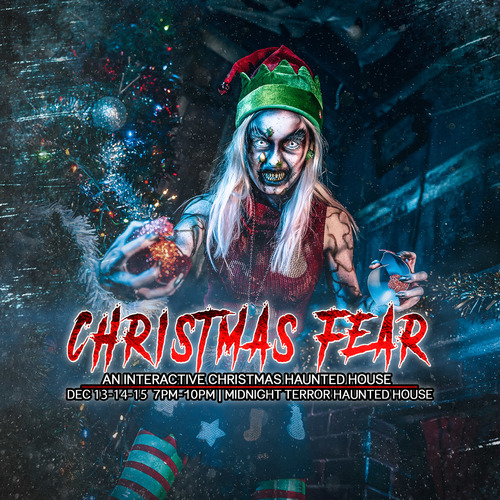 Christmas Fear 2019 | An Interactive Christmas Haunted House image