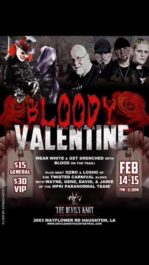 Bloody Valentine poster
