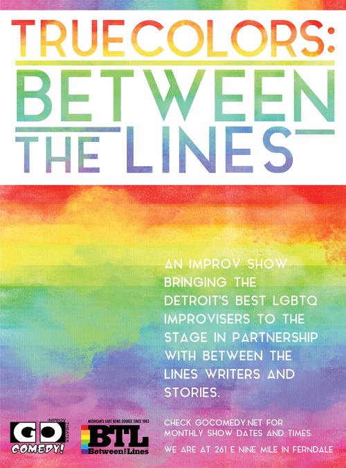 True Colors: Between the Lines poster