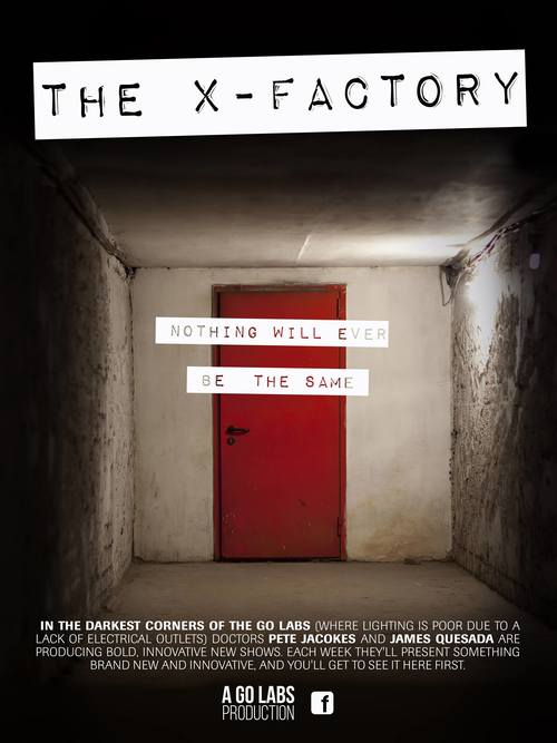 The X-Factory poster