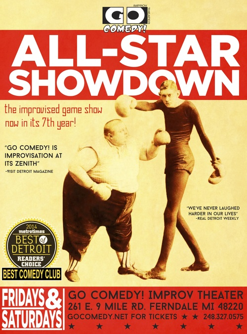 Go Comedy! All-Star Showdown (Fridays and Saturdays) poster