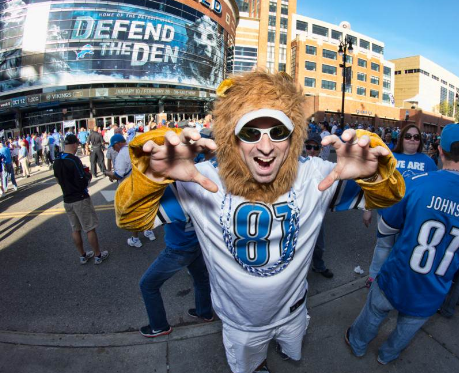 Lions Home Opener Party image