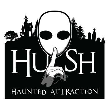 Hush haunted attraction logo 01a