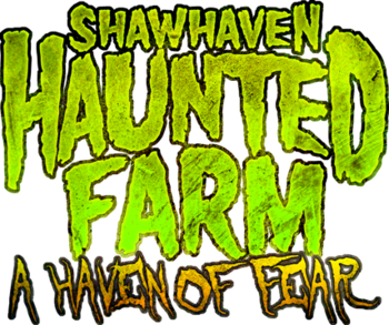 Shawhaven haunted farm logo low pixl