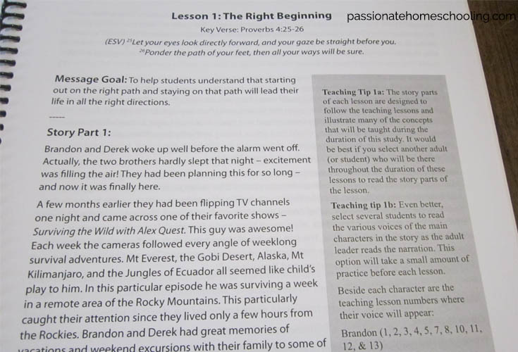 Teen Prasso Teacher Manual Sample