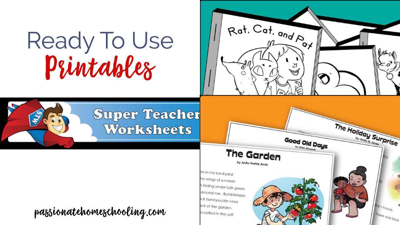 Super Teacher Worksheets Review Passionate Homeschooling