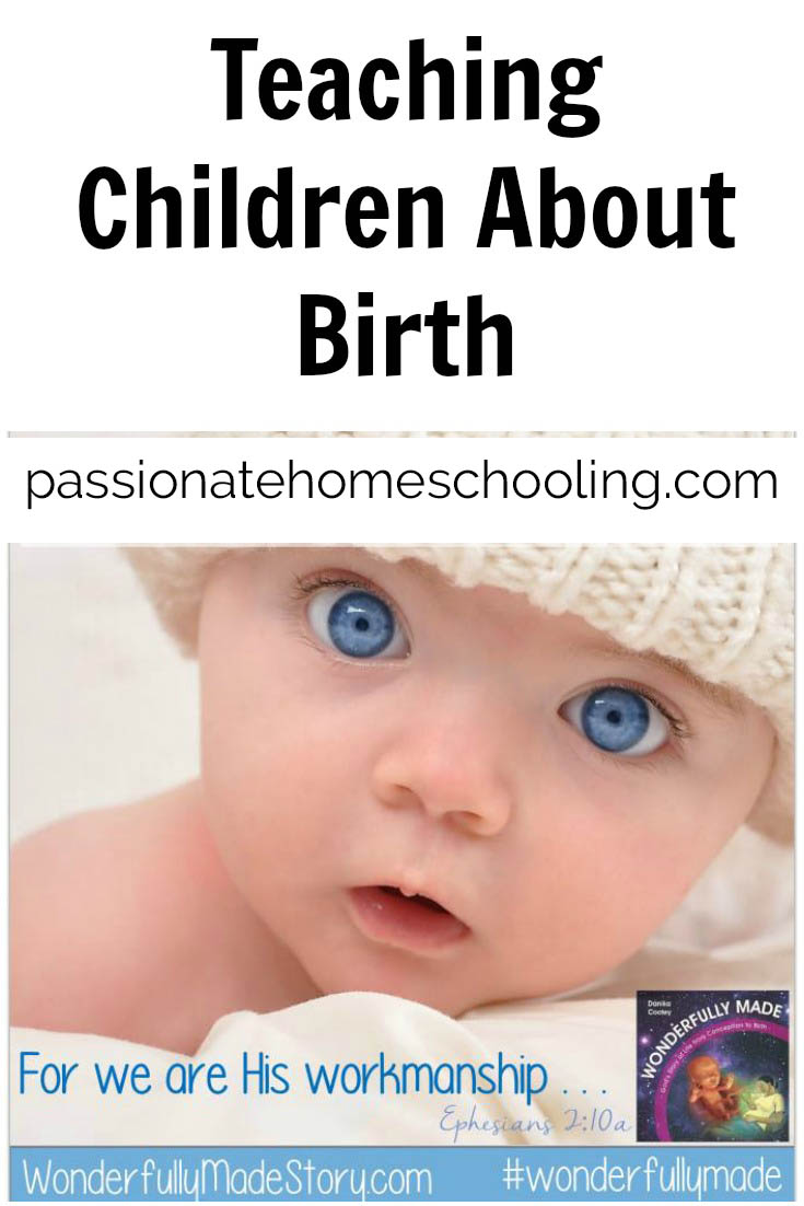 """How to answer your child when they ask """"How Was I Born?"""". The book Wonderfully Made is a beautiful addition to any mothers library. How I wish I had this book when my older children were little!"""