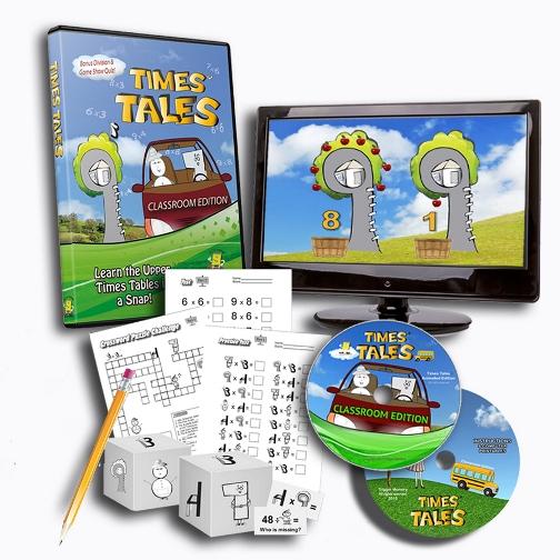 Times Tales Multiplication DVD Program